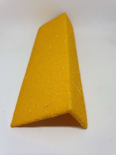 50x30mm MFRP Stair Nosing Safety Yellow 1M