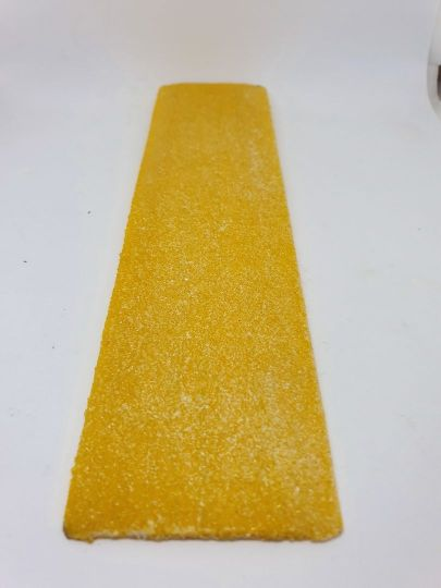 90mm FRP Deck Tread Safety Yellow 1.5M